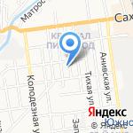 Металловит на карте Южно-Сахалинска