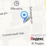 ПАТП-3 на карте Южно-Сахалинска