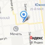 Сахалин услуги на карте Южно-Сахалинска