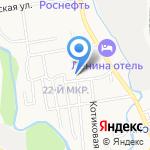 Кадетская школа на карте Южно-Сахалинска