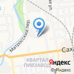 Радиочастотный центр Дальневосточного Федерального округа на карте Южно-Сахалинска