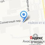 Пять Звезд на карте Южно-Сахалинска