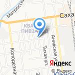 Провайдер на карте Южно-Сахалинска