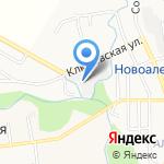 Модуль-97 на карте Южно-Сахалинска