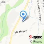 Русь на карте Южно-Сахалинска
