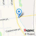 Сахалинский бекон-2 на карте Южно-Сахалинска