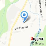 Орфей на карте Южно-Сахалинска