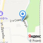 Автосервис на карте Южно-Сахалинска