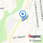 Участковая ветеринарная лечебница на карте Южно-Сахалинска
