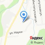Ровесник на карте Южно-Сахалинска