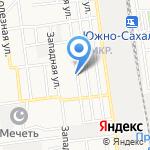 Сити Строй на карте Южно-Сахалинска