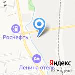 Шины+ на карте Южно-Сахалинска
