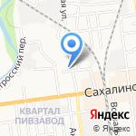 Почтовое отделение №5 на карте Южно-Сахалинска