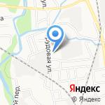 Уралавтоцентр на карте Южно-Сахалинска