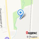Баграм на карте Южно-Сахалинска