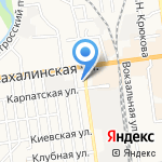 ТермоMix на карте Южно-Сахалинска