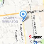 ЭСМА на карте Южно-Сахалинска