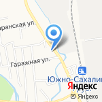 888 на карте Южно-Сахалинска