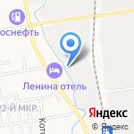 РЭУ на карте Южно-Сахалинска