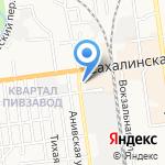 ЦентрСерт-ДВ на карте Южно-Сахалинска