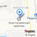 Исправительная колония №1 на карте Южно-Сахалинска