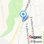Магазин хозяйственных товаров на карте Южно-Сахалинска