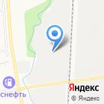 Школьник на карте Южно-Сахалинска
