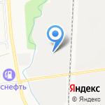 Магазин постельного белья на карте Южно-Сахалинска