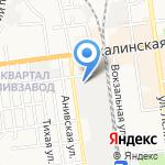 Центр напольных покрытий на карте Южно-Сахалинска