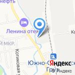 РЭО-7 на карте Южно-Сахалинска