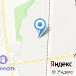 Аюсс на карте Южно-Сахалинска