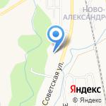Средняя общеобразовательная школа №31 на карте Южно-Сахалинска