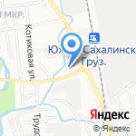 Старт-ДВ на карте Южно-Сахалинска