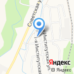 Ветеринарная клиника на карте Южно-Сахалинска