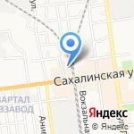 Патриот на карте Южно-Сахалинска