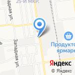 Феррум на карте Южно-Сахалинска
