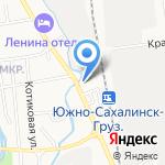 12 Вольт на карте Южно-Сахалинска