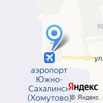 Автопрокатная компания на карте Южно-Сахалинска
