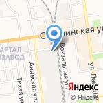 Охрана МВД России по Сахалинской области на карте Южно-Сахалинска