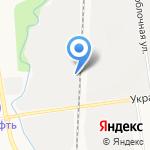 Danone на карте Южно-Сахалинска