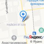 МТЕ Учебные услуги на карте Южно-Сахалинска