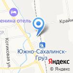 Агентство общественных связей на карте Южно-Сахалинска