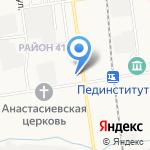 Магазин мебели на карте Южно-Сахалинска