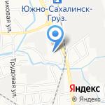 Автолаборатория на карте Южно-Сахалинска
