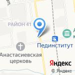 ПАМЯТЬ В КАМНЕ на карте Южно-Сахалинска