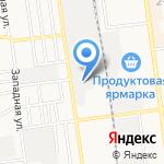 Авангард безопасности на карте Южно-Сахалинска