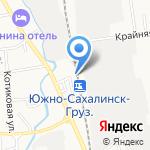 Приморавтоматика на карте Южно-Сахалинска