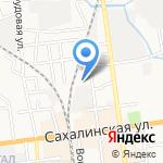 АвтоStep на карте Южно-Сахалинска