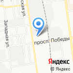 Городская управляющая компания на карте Южно-Сахалинска