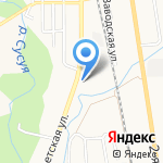 Отдел по управлению территорией планировочный район Ново-Александровск на карте Южно-Сахалинска